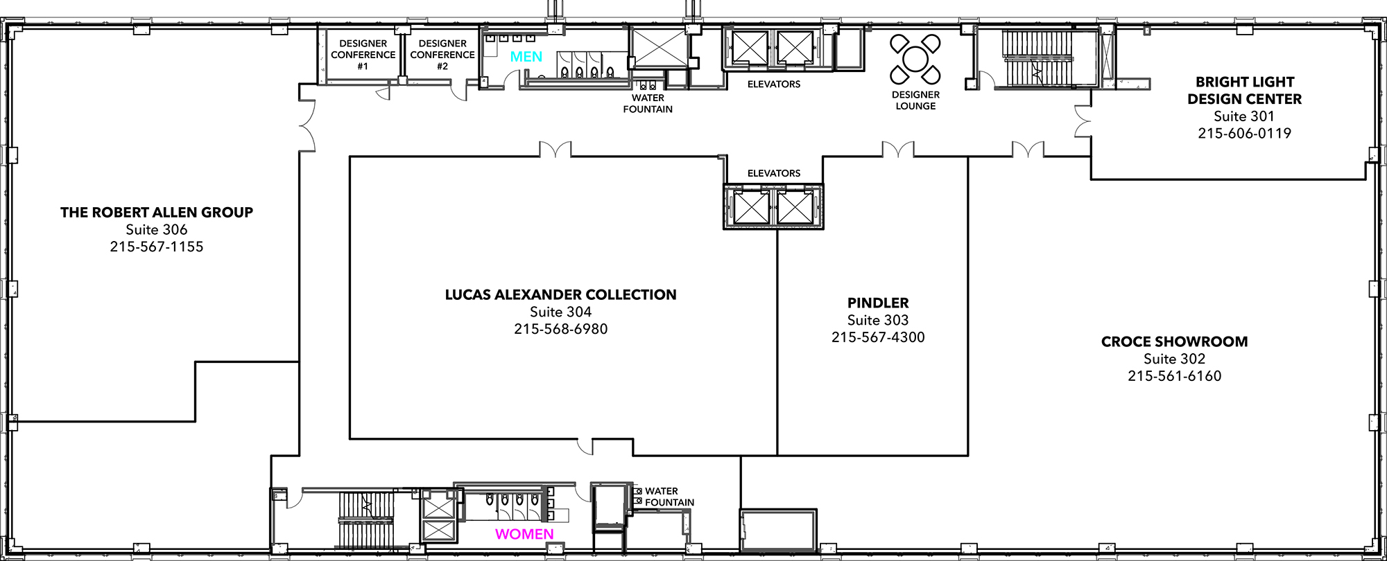 floor 4 - Floor Map Design